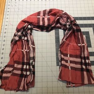 Burberry Cotton/Silk Scarf